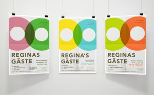 Neue Stadthalle Langen Reginas Gaeste Plakatserie
