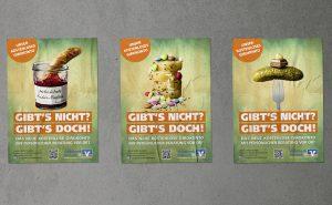 Volksbank Dreieich Neukundenwerbung Plakate
