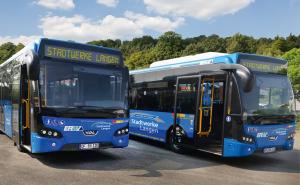 Stadtwerke Langen Busbeklebung