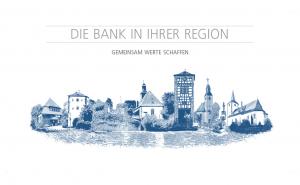 Volksbank Dreieich Regionalfolie Fotomontage